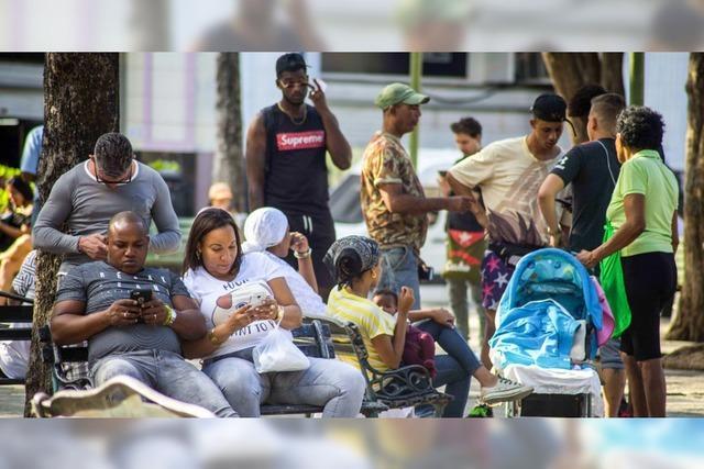 Bald können Kubaner überall im Internet surfen