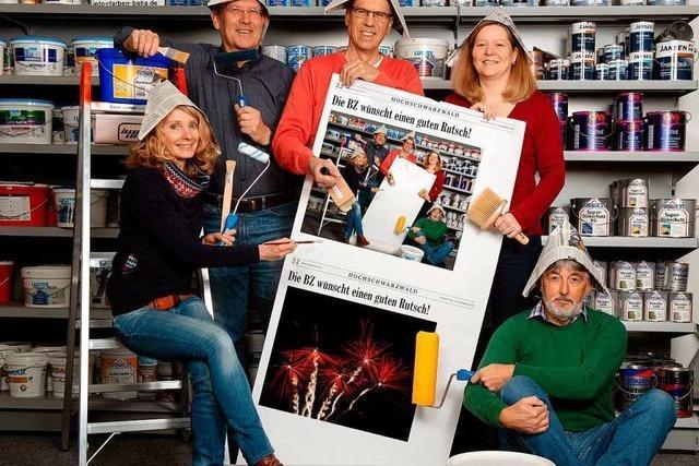 Die BZ-Redaktion Neustadt bringt Farbe ins neue Jahr