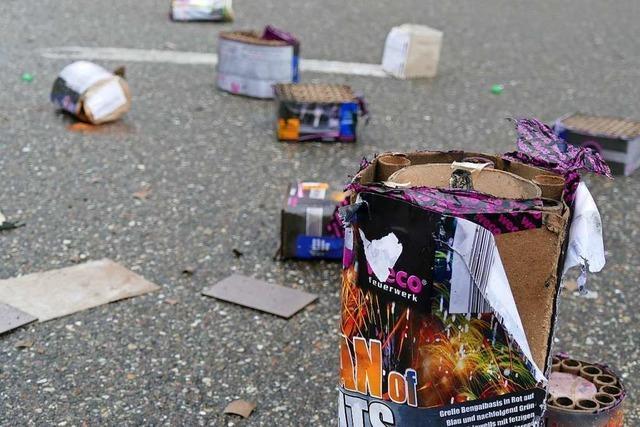 Rheinfelden: Feiernde lassen mehr Müll zurück