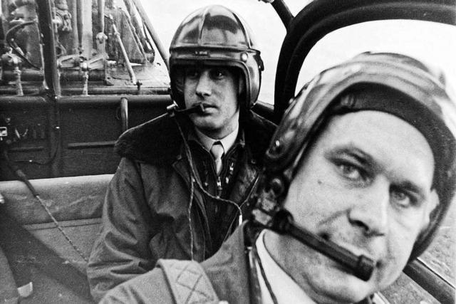 Warum ein Lokalreporter 1968 in einem Militärhelikopter mitfliegen durfte