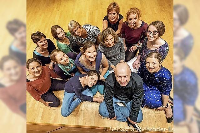 Frauen-Vokalensemble Colla Voce mit Orgel und Harfe in Hinterzarten