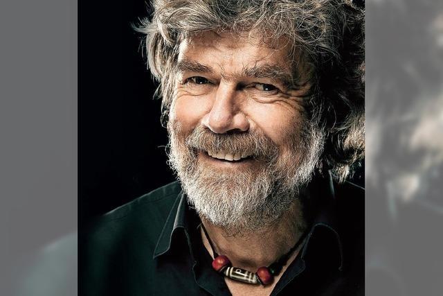 Reinhold Messner kommt mit seinem neuesten spektakulären Vortrag nach Offenburg