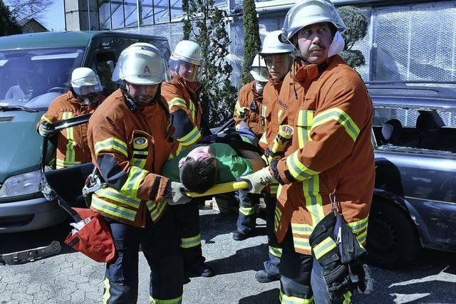 Alles neu für die Hohberger Feuerwehr