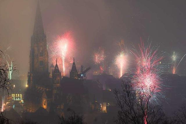So stark war die Feinstaubbelastung in Freiburg in der Silvesternacht