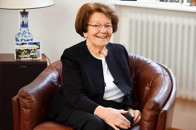 Alt-Stadträtin Ellen Breckwoldt hat viele Ämter niedergelegt – und so war ihr Jahr