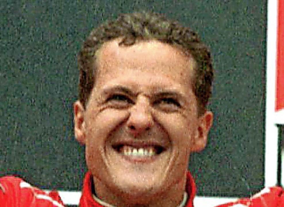 Michael Schumacher – hier ein Foto aus dem Jahr  1996   | Foto: dpa