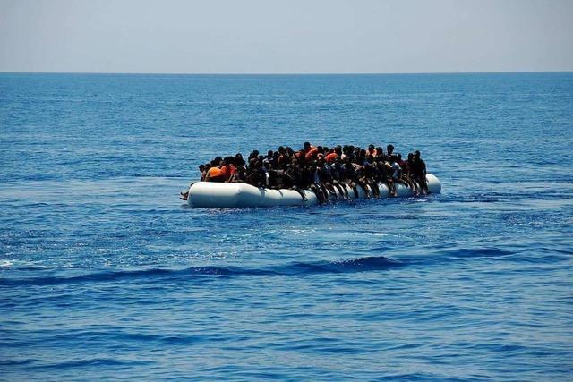 2018 sind mehr als 2200 Flüchtlinge im Mittelmeer gestorben
