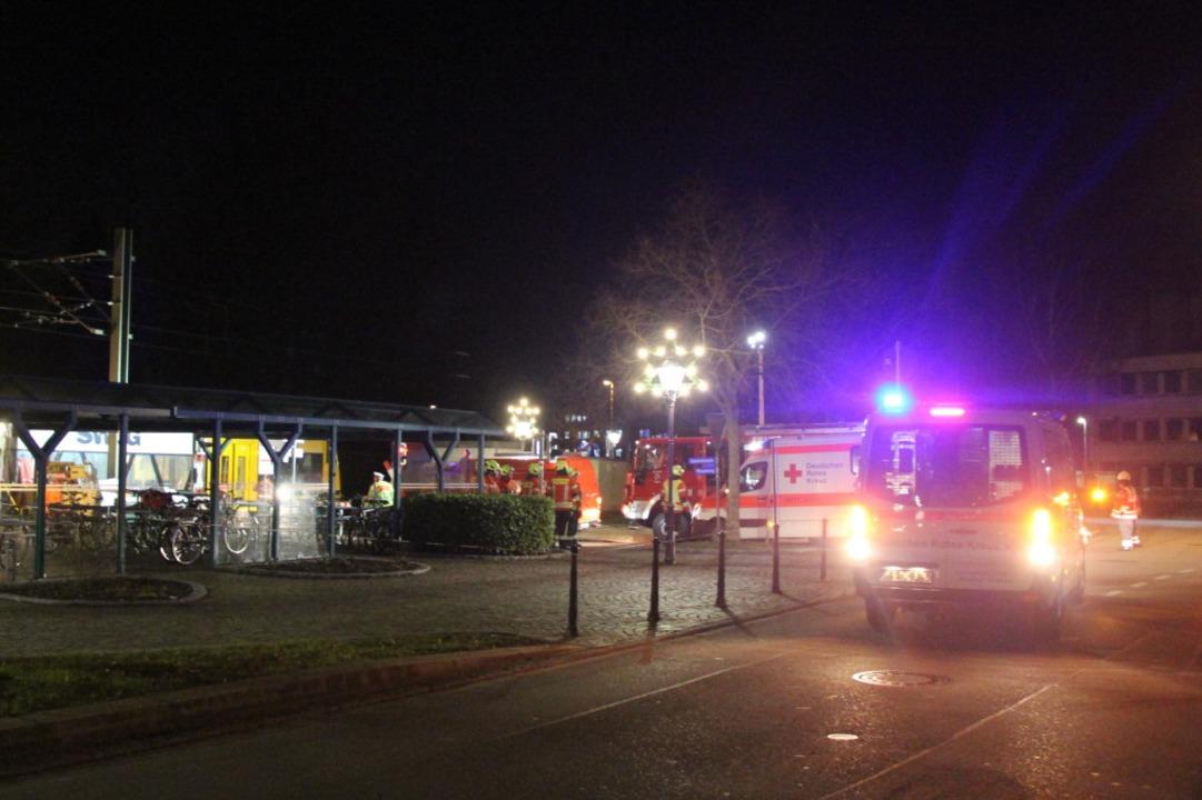 Auch die Bötzinger Feuerwehr war im Einsatz.  | Foto: Horst David