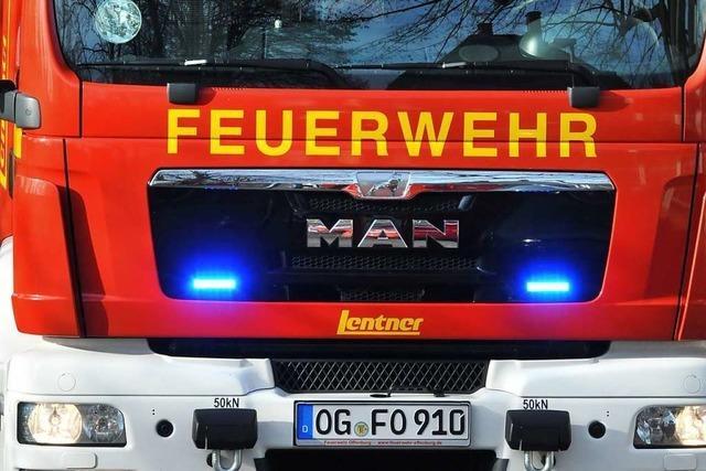 Kaminbrand in der Offenburger Oststadt