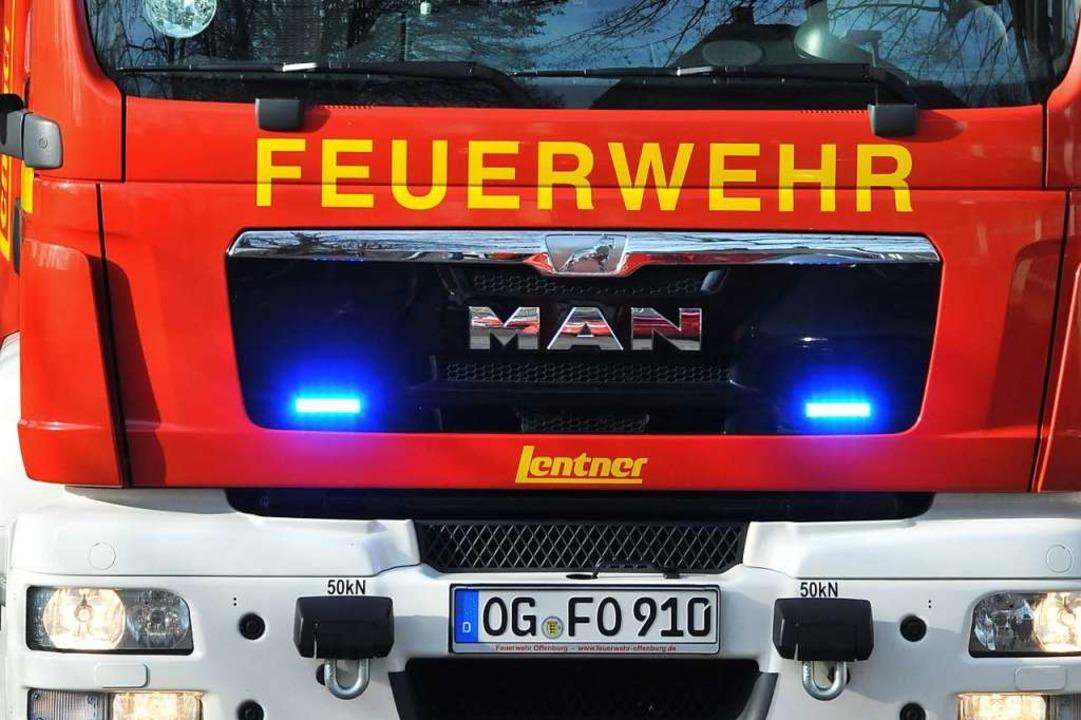 Auch im neuen Jahr schon wieder sehr g...ie wegen eines Kaminbrandes alarmiert.  | Foto: Helmut Seller