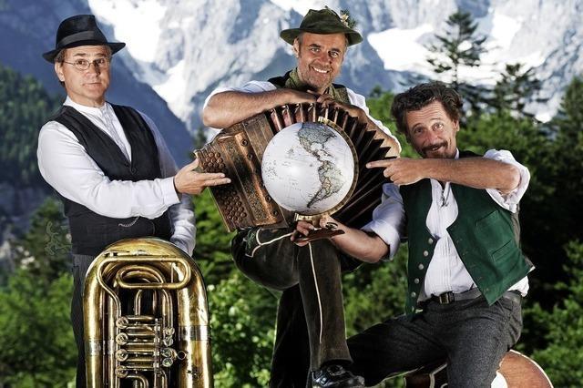 Trio Knedl & Kraut gastieren am Freitag, 11 Januar, in der Stadthalle in Bonndorf