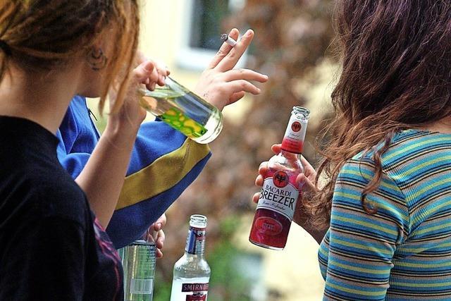 Jugendliche haben es erfreulich schwer, an Alkoholika zu kommen