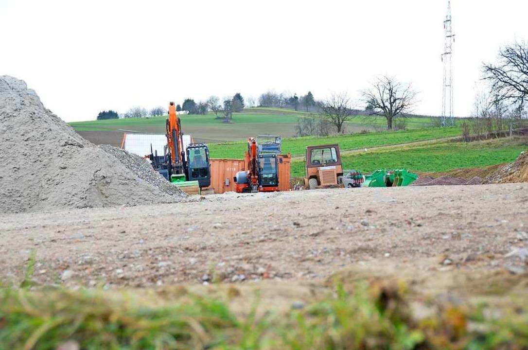 75 Bewerber für 12 Bauplätze: Die Nachfrage nach Bauland in der Region ist groß.  | Foto: Moritz Lehmann