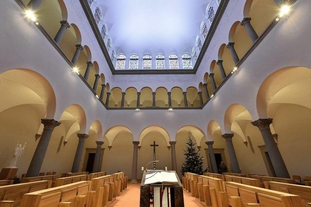 Das Oratorium von St. Lioba strahlt in neuem Glanz