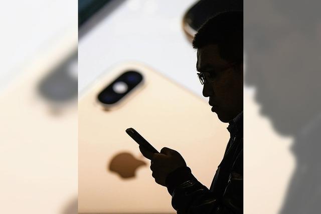 Das iPhone von Apple verliert an Zugkraft