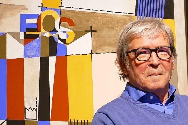 Lörracher Künstler Bruno Haas zeigt zum 80. Bilder aus fast 40 Jahren