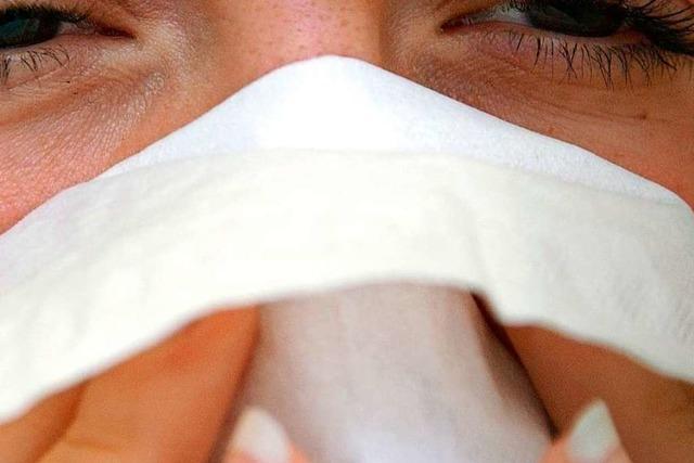 Jemand zieht die Nase hoch – ist es unhöflich, ein Taschentuch anzubieten?