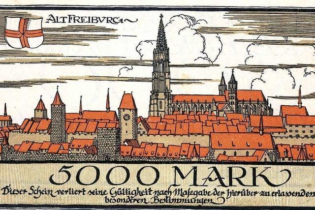 Als die Stadt Freiburg ihr eigenes Geld druckte