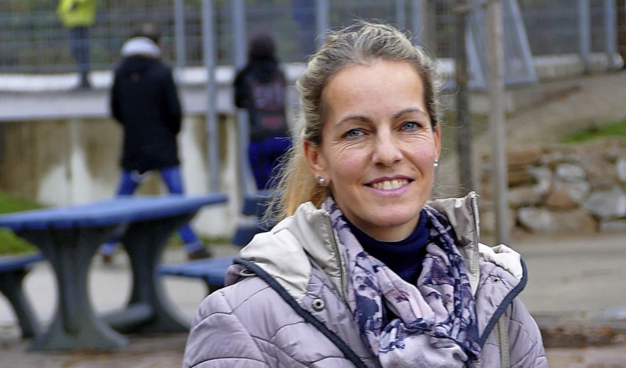 Viola Rieß suchte Austausch mit andere...utismus-Selbsthilfegruppe in Müllheim.  | Foto: Susanne Ehmann