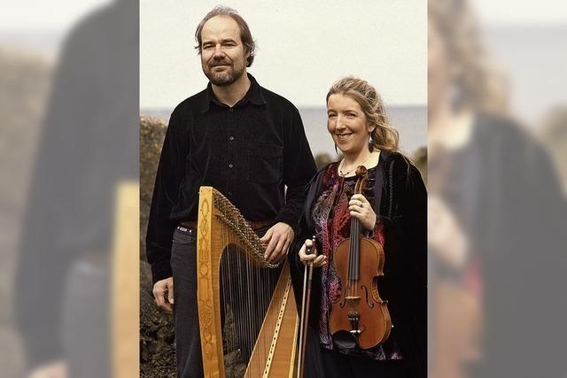 Máire Breatnach (Violine) und Thomas Loefke (Harfe) gastieren am Montag, 21. Januar, in der Kultschüür in Laufenburg/Schweiz