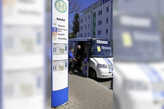 Das Projekt Bürgerbus geht weiter