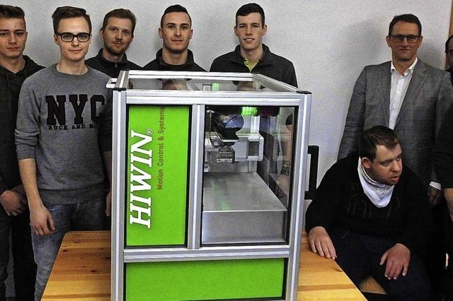 Hiwin-Maschine hilft Behinderten