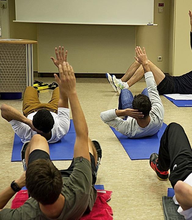 Gymnastik ist möglich.  | Foto: WOK