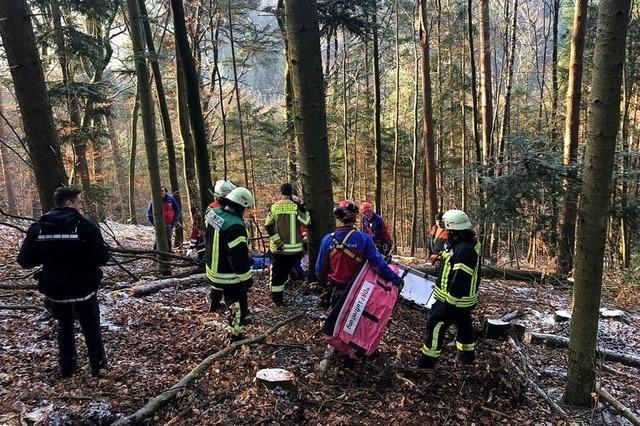Verletzter von Bergwacht geborgen