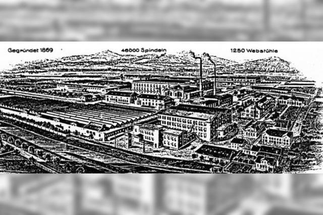 Ein Wald von Fabriken...