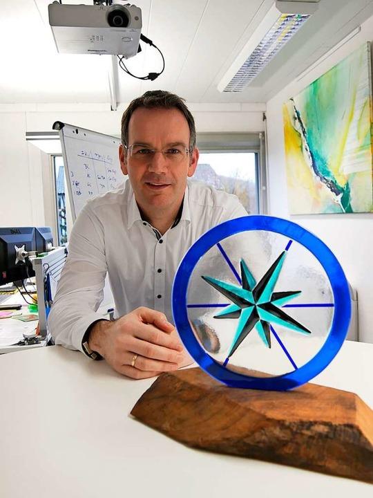 Peter Selders ist der neue Vorstandschef des Endress+Hauser-Werks in Maulburg.  | Foto: Robert Bergmann