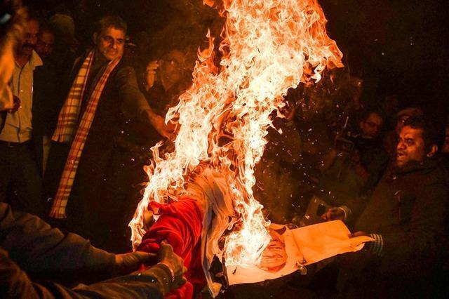 Hindunationalisten zündeln vor den Wahlen