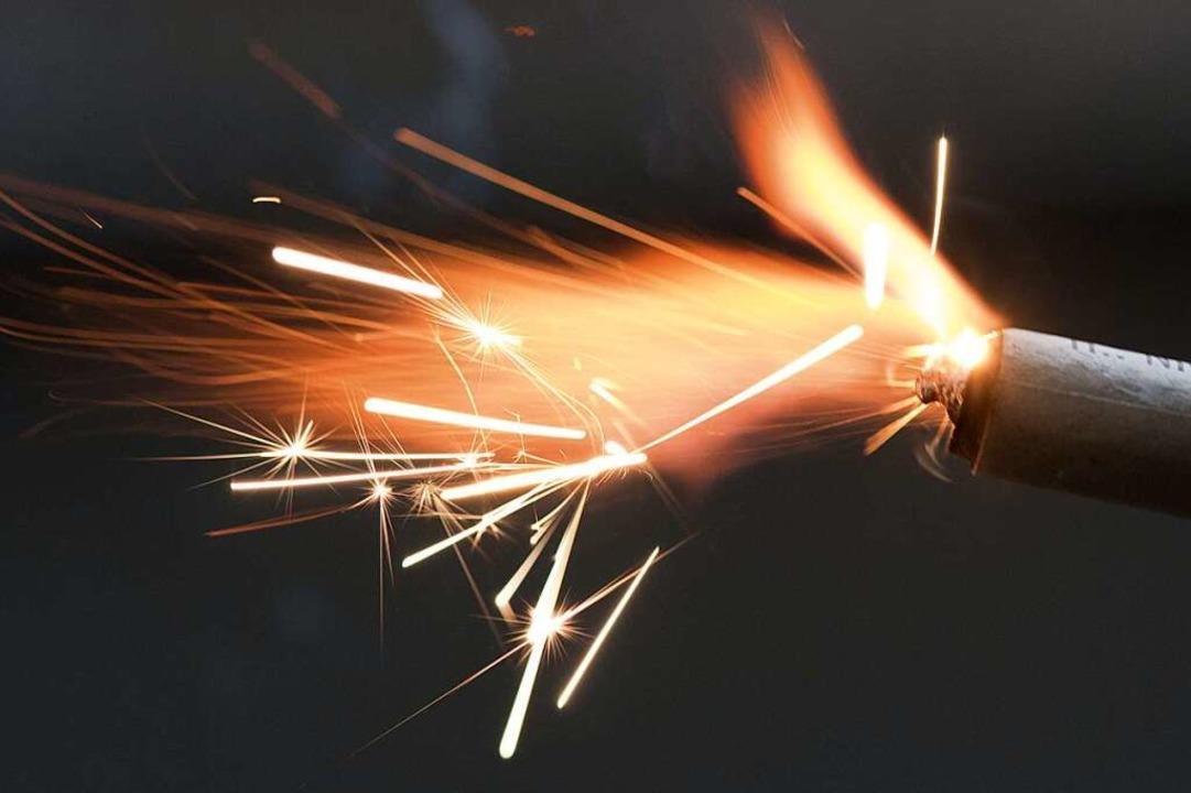 Nie wieder Feinstaub zum Jahreswechsel...1; die E-Rakete macht's möglich.  | Foto: dpa