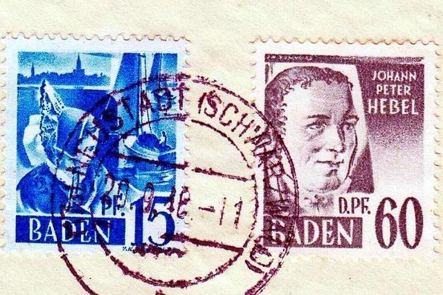 Wie Johann Peter Hebel in Hausen auf die Briefmarke kam