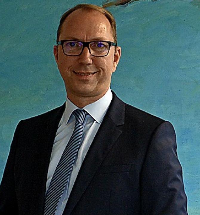 Andreas Finke, Leiter der Arbeitsagentur Lörrach    Foto:  Kang