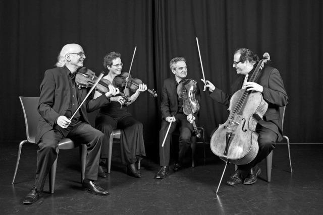 Segantini-Streichquartett spielt im Bürgerhaus