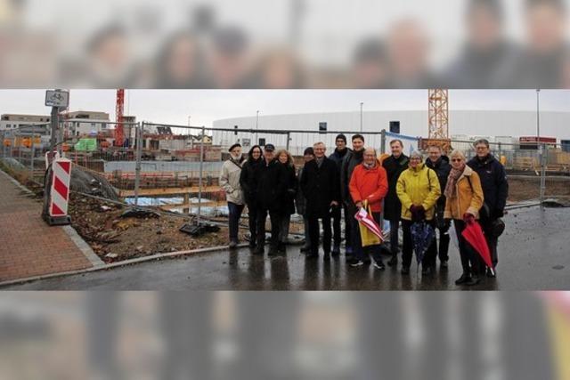 Streifzug mit der SPD zu den großen Baustellen und Themen
