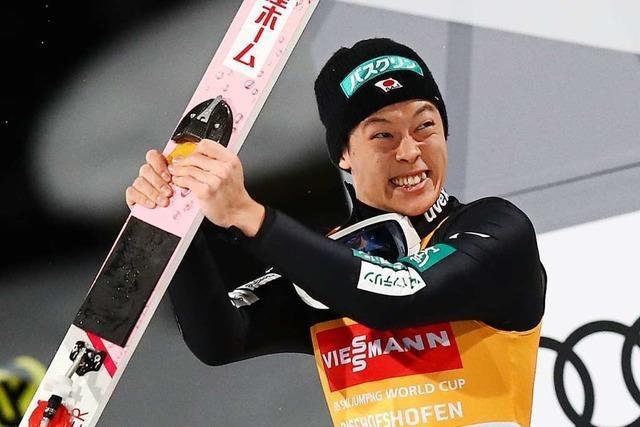 Ryoyu Kobayashi gelingt Tournee-Vierfachsieg, Stephan Leyhe wird Dritter