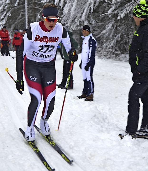 Schnellste über vier Kilometer war Ame...hren Pokalsieg vom vergangenen Winter.