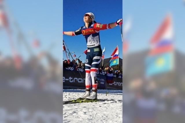 Klaebo und Östberg siegen bei Tour de Ski