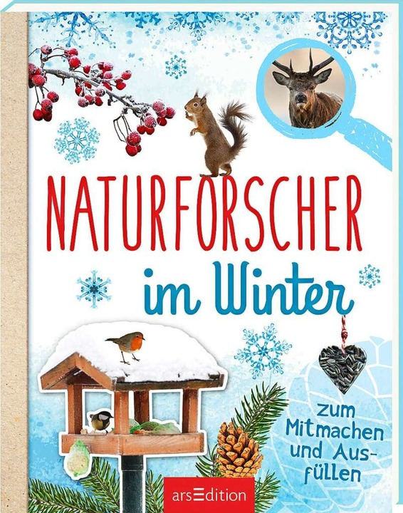 <BZ-Keyword>Eva Eich:</BZ-Keyword> Naturforscher im Winter.  | Foto: ars edition