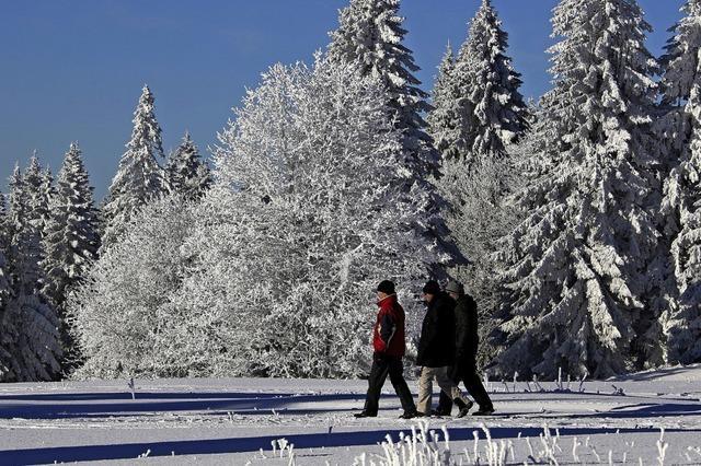 Wintereinbruch im Südwesten
