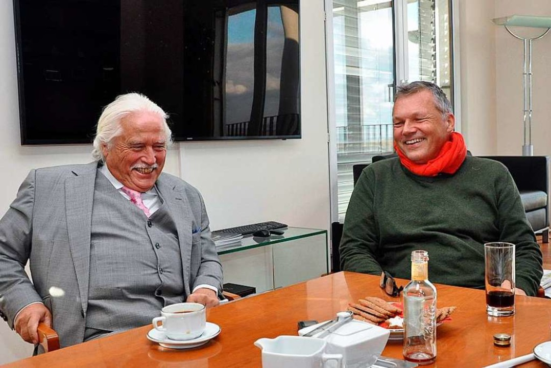 Unmüßig und Krögner.    Foto: Jens Kitzler