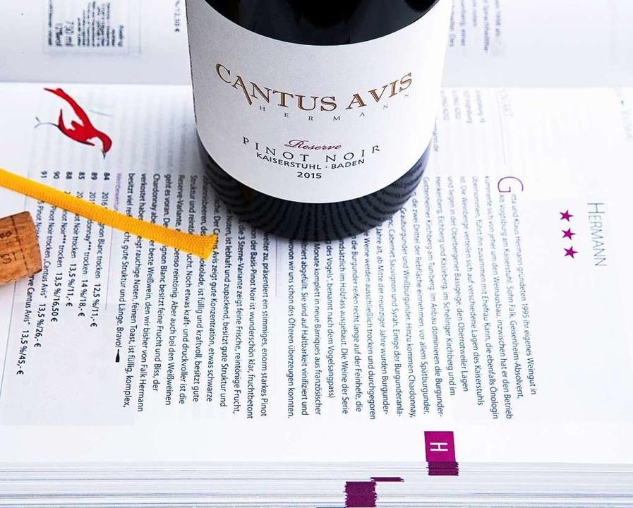 Ein edler Pinot Noir aus dem Hause Hermann  | Foto: Michael Wissing