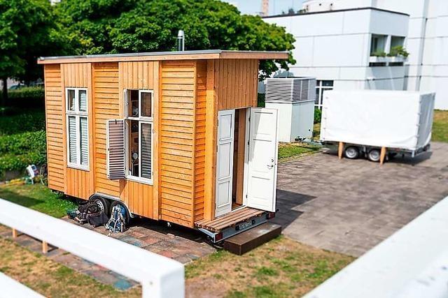 Großrat in Basel stimmt mit großer Mehrheit für Tiny-House-Siedlung