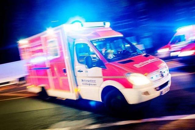 Mann wird bei Discoveranstaltung in Auggen schwer verletzt