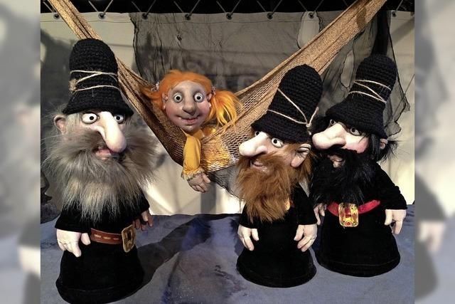 Das Figurentheater Marotte mit dem Kinderstück