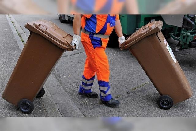 Anlaufprobleme bei der Müllabfuhr