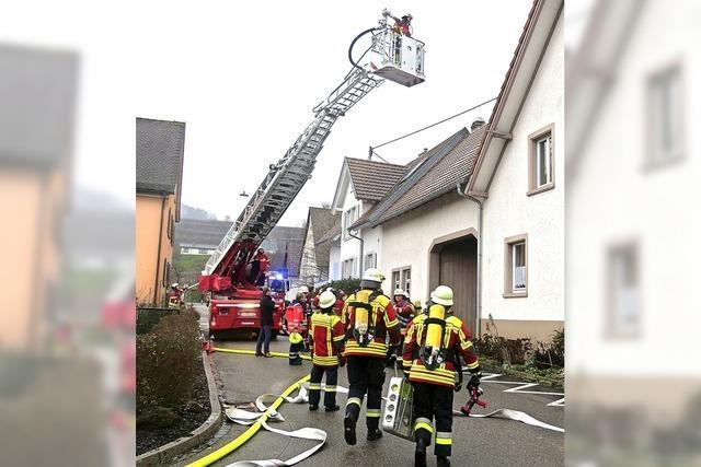 Wohnhausbrand in Bischoffingen – Bewohner unverletzt