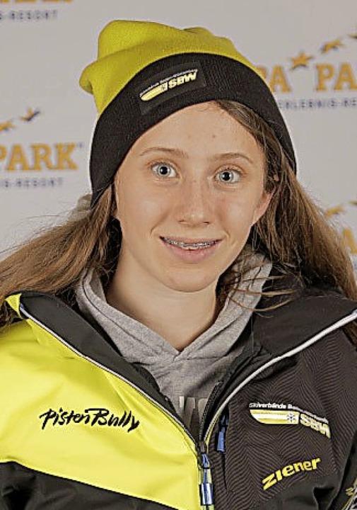 Glänzte in der Loipe: Carina Gutmann, Zweite der U16/17