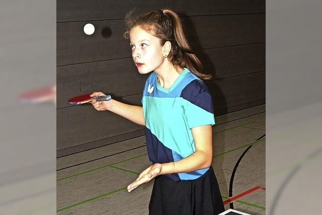 Tischtennistalent